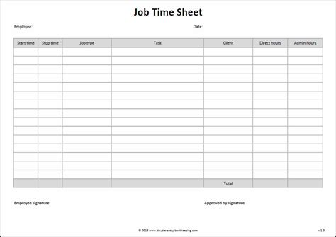 Time Card Spreadsheet Template Free Onlyagame Time Card Spreadsheet Template Free