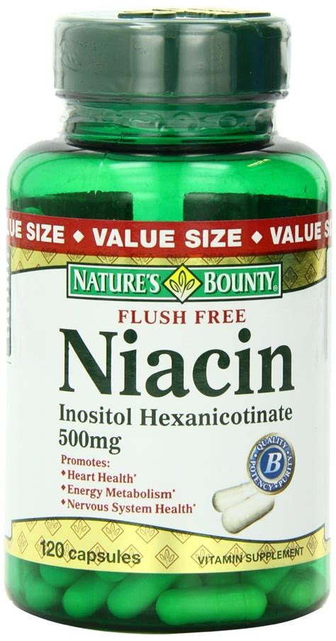 Where To Buy Niacin Detox Pills by Natures Bounty Niacin Flush Free 500 Mg Capsules Value