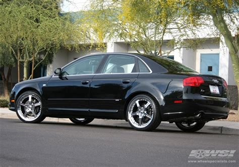 2006 Audi A4 Wheels by 2006 Audi A4 With 19 Quot Gianelle Spezia 5 In Chrome Wheels