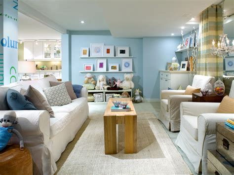 Decorating Ideas Basement Family Room 10 Chic Basements By Candice Decorating And Design