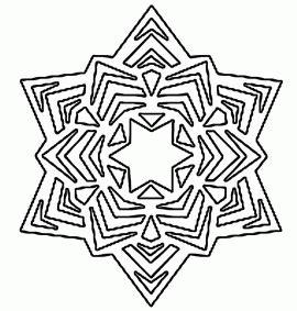 free printable mini snowflakes paper snowflake templates