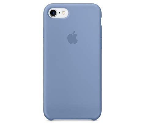 buy apple iphone   silicone case azure blue