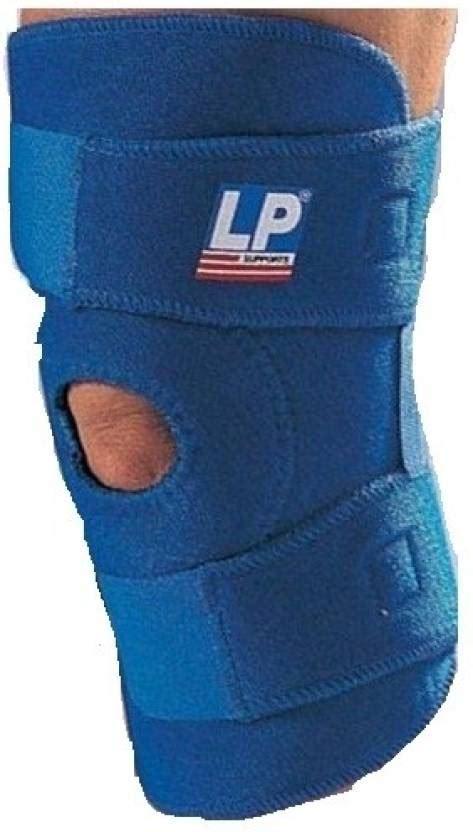 Knee Open Patella Lp 758 Adjustable lp 758 knee support free size blue buy lp 758 knee support free size blue at best