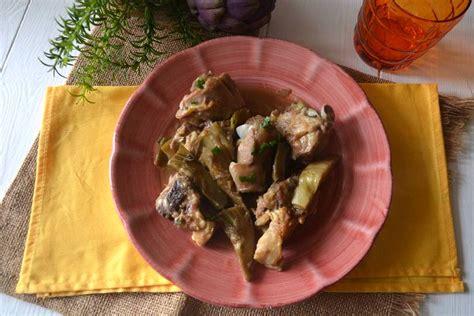 ricette per cucinare agnello 187 agnello con carciofi ricetta agnello con carciofi di misya