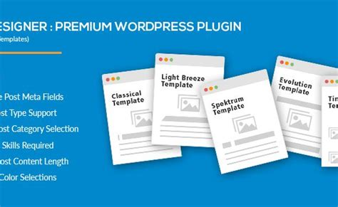 blog layout plugin wordpress masonry timeline blog template blog designer wordpress