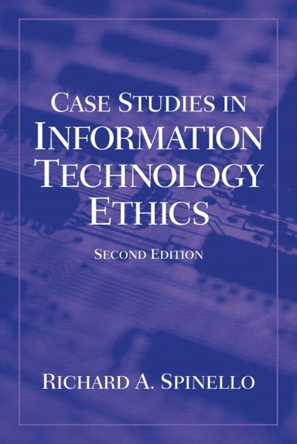global information technologies ethics and the higher education coursebook books spinello studies in information technology ethics