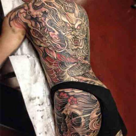 tatuajes dragon espalda