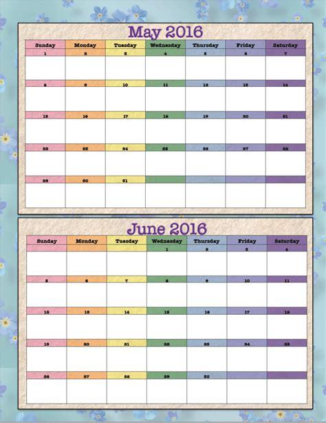 design calendar free 2016 free printable bimonthly 2016 calendars 2 designs the