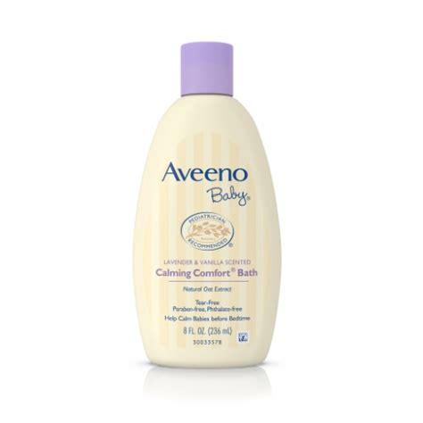 aveeno shower and bath aveeno baby calming comfort bath lavender vanilla 8 fl
