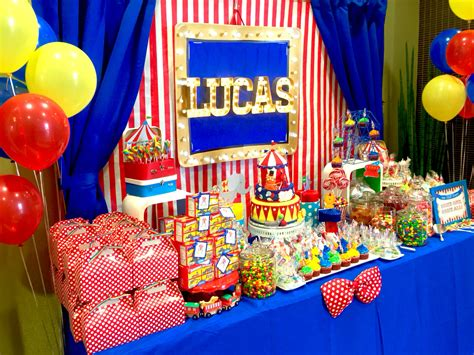 carnival themes ideas circus theme candy table by glam candy buffets glam