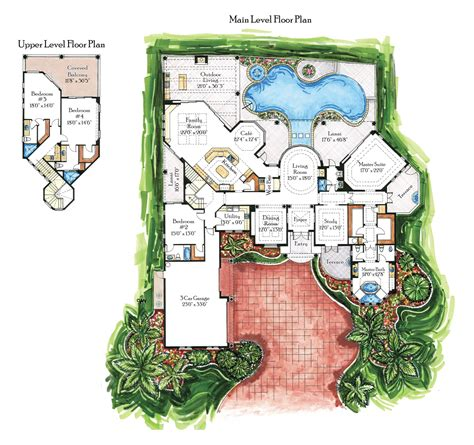 italian villa floor plans italian villa house plans house plans home designs