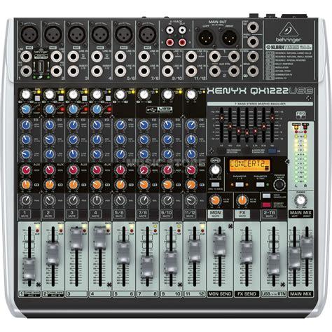 Mixer Xenyx 1222fx behringer xenyx qx1222usb