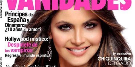 vanidades facebook chiquinquir 225 delgado en la portada de la revista vanidades