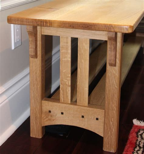 set   craftsman style tables finewoodworking