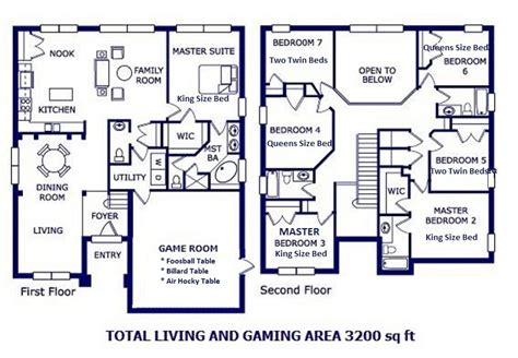 7 bedroom floor plans emerald island rent
