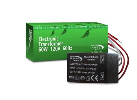 12 volt transformer for halogen lighting technol 60w 120v 12v electronic transformer for halogen