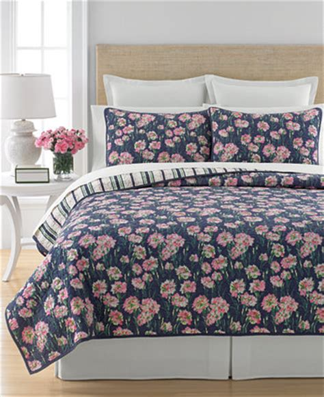 Macys Bedding Quilts by Closeout Martha Stewart Collection Carnation Field Quilts
