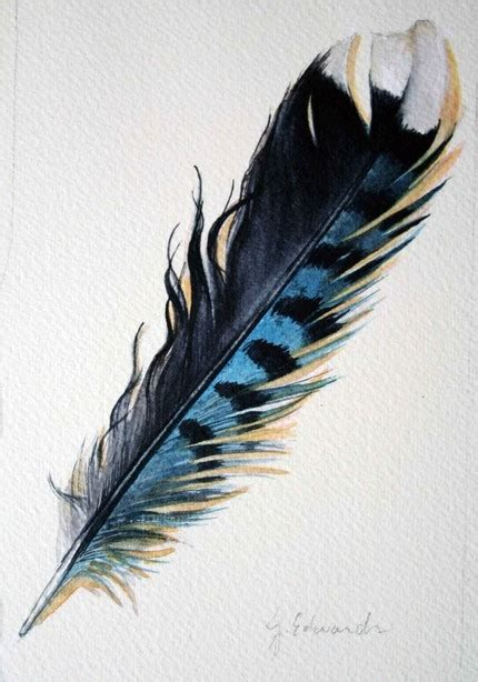 livinginreverie feather 46 blue jay feather