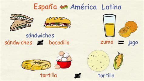 imagenes ingles y español aprender espa 241 ol vocabulario diferente en espa 241 a y