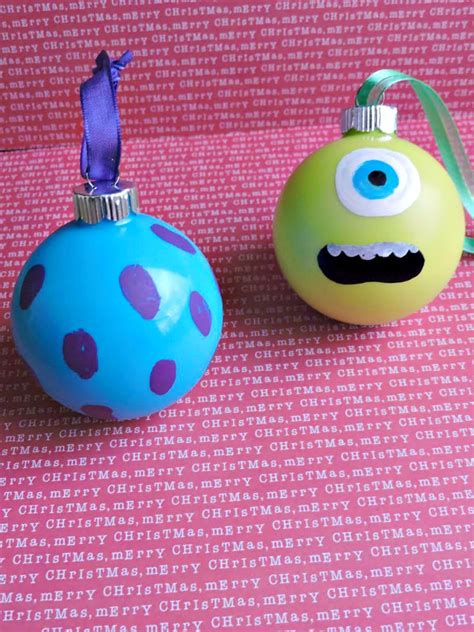 disney pixar monsters inc inspired ornaments divine