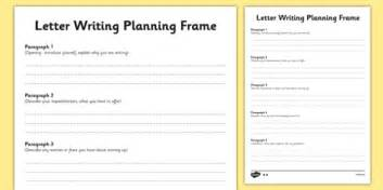 Transition Letter Writing Differentiated Planning Frame Year 6 To Year 7 Letter Template Ks2 2