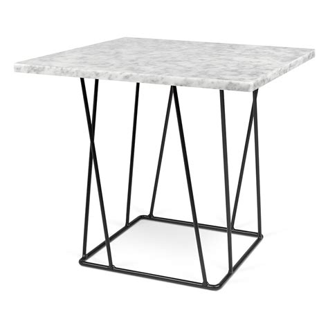 black and white marble table temahome helix white black marble end table eurway furniture