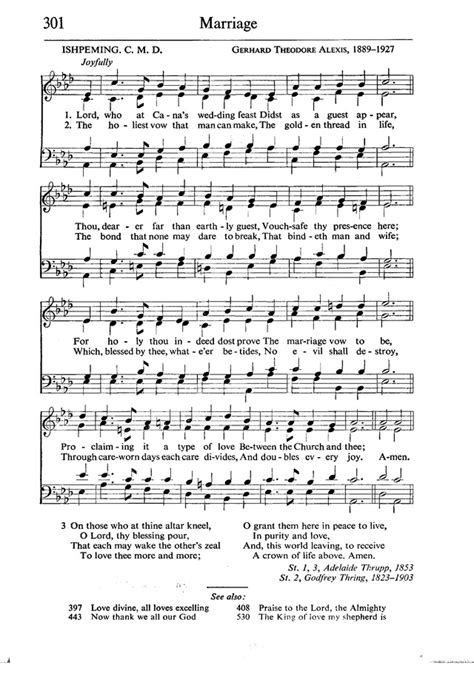 Wedding At Cana Text by Lord Who At Cana S Wedding Feast Hymnary Org