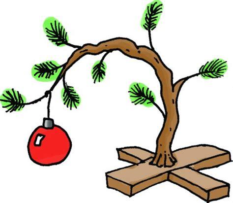 charlie brown christmas tree clipart clipartxtras