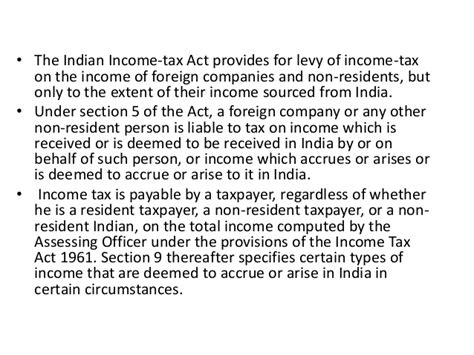 section 23 2 a of income tax act income tax department