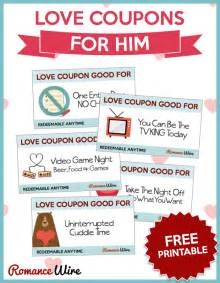 coupons for him template awesome coupons for him wire
