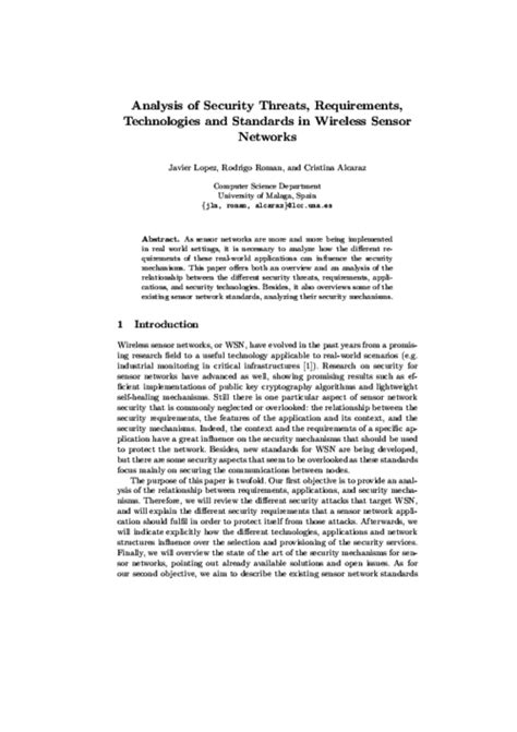 wireless security research paper research paper computer