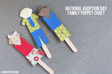 family craft for craftaholics anonymous 174 national adoption day craft