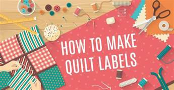 How To Make Quilt Labels by How To Make Quilt Labels 24 Blocks