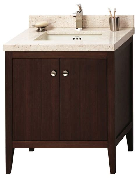 Solid Wood Bedroom Vanity Set by Ronbow Solid Wood 30 Quot Vanity Set With Ceramic Sink