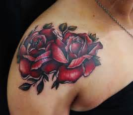 traditional rose tattoos neo traditional roses by kade mack artist