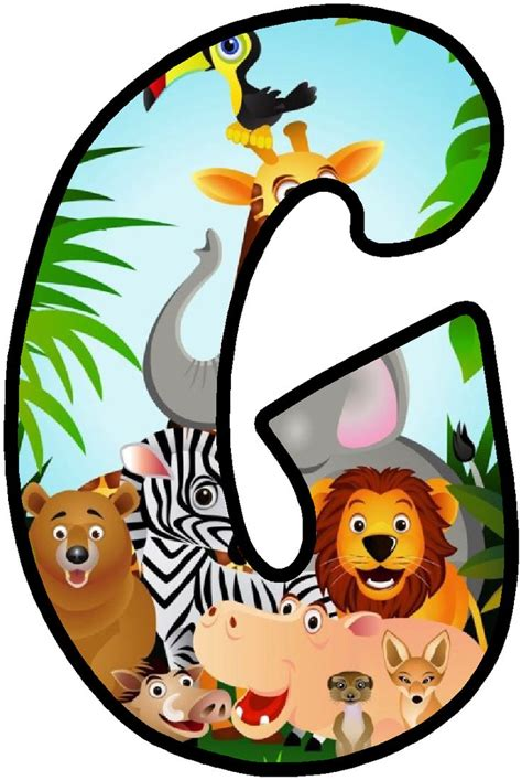 printable jungle alphabet letters 708 best images about letters on pinterest