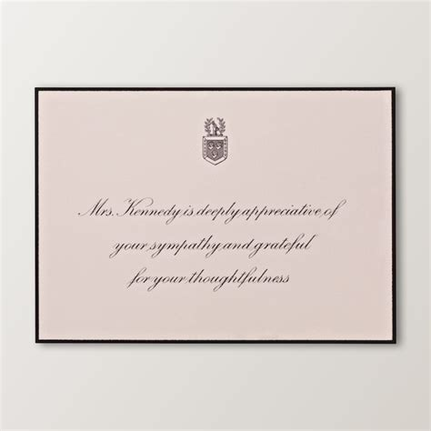 funeral acknowledgement cards template 17 best images about jfk mourning jfk on jfk