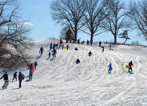 sledding michigan image gallery sledding hill