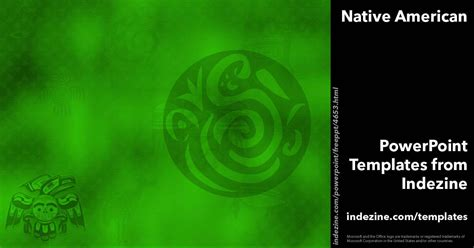 nat tutorial ppt native american 03 powerpoint templates