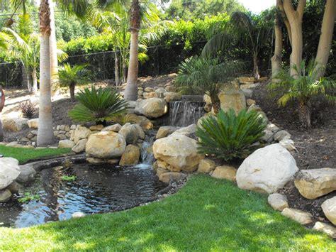 Water Garden Santa by Small Garden Ponds In Santa Barbara Garcia Rock And
