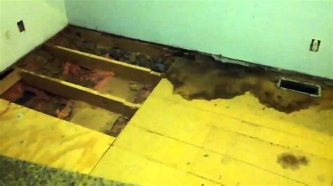 mobile home floor repair
