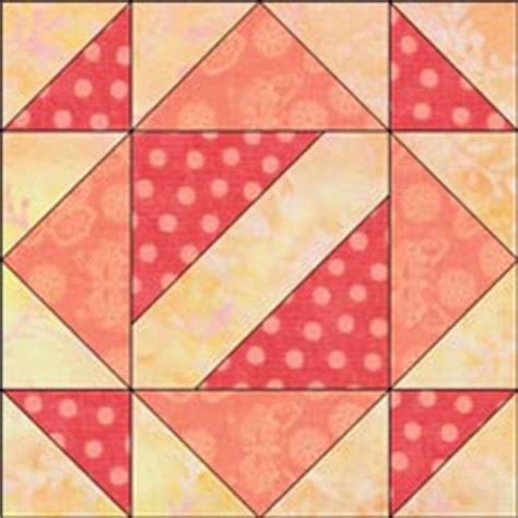 Signature Quilt Block Patterns by Hour Glass Quilt Block Illustrated Step By Step