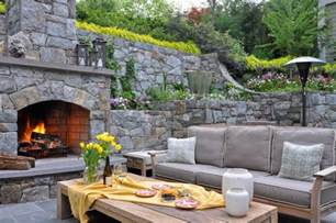 terrific outdoor fireplace plans free with curved patio