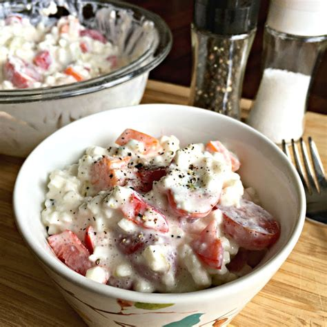 cottage cheese sweet recipes sweet bluebird s cottage cheese salad