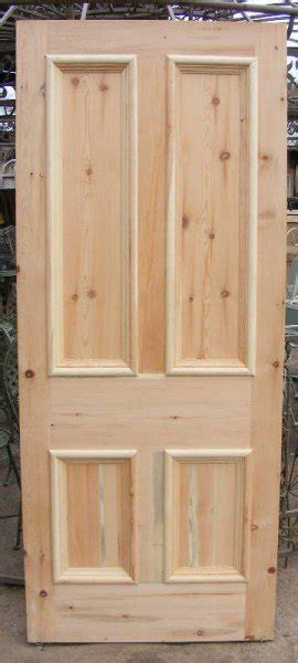 Victorian Style Front Door Wells Reclamation 4 Panel Exterior Door