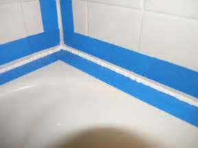 Bathtub Caulking Tape How Caulk Bathtub 187 Bathroom Design Ideas