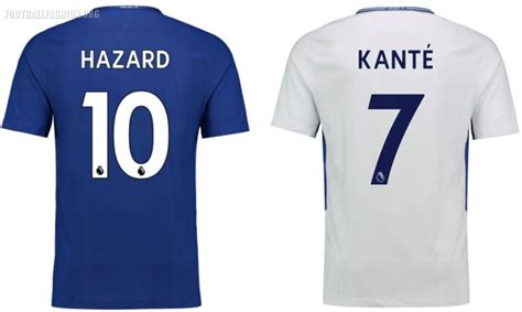chelsea jersey 2018 chelsea fc 2017 18 nike home and away kits football
