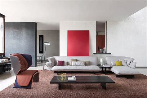 Cassina Sofas 550 Beam Sofa System Lounge Sofas From Cassina Architonic