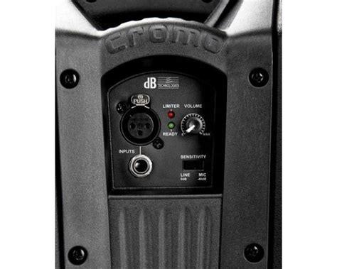 le 400 watt db cromo 10 plus 400w cassa attiva 2 vie 400 watt