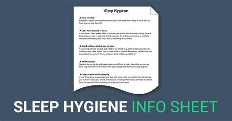 sleep hygiene worksheet sleep hygiene worksheet grass fedjp worksheet